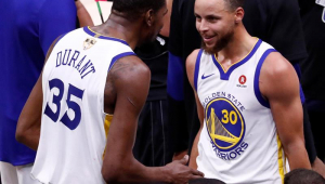 Presidente do Golden State Warriors anuncia que vai aposentar camisa 35 de Kevin Durant