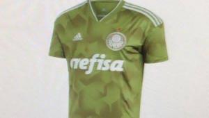 Vaza provável camisa 3 do Palmeiras