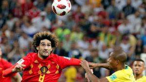 Famoso pela cabeleira, belga Fellaini muda visual no aniversário