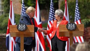 Trump aconselhou May a processar UE em vez de negociar