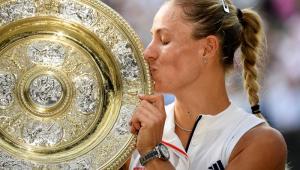 Kerber brilha, impede recordes de Serena e fatura título de Wimbledon pela 1ª vez