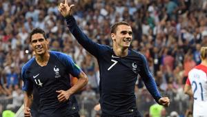 """Griezmann elogia elenco francês e vibra com título mundial: """"é algo gigante"""""""
