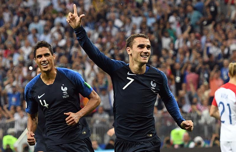 França x Croácia na final da Copa do Mundo de 2018  149291aca39c5