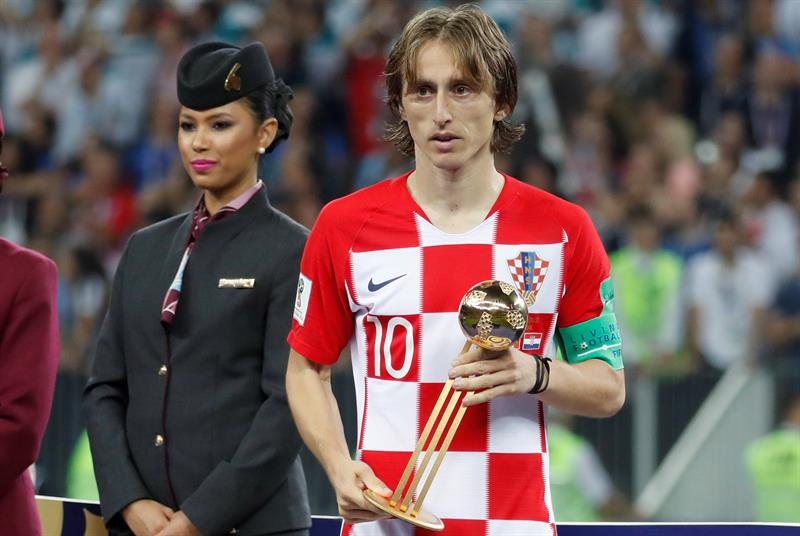Modric admite que preferia título ao invés do prêmio de melhor da Copa