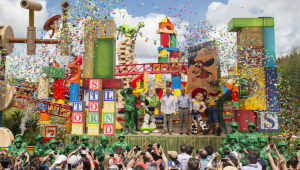 Toy Story Land na Disney