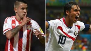 Bryan Ruiz faz exames e atacante paraguaio está próximo de acerto com Santos