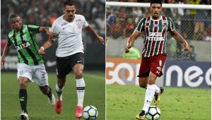 """Corinthians e Fluminense acertam detalhes para """"trocar"""" Júnior Dutra por Douglas"""