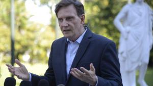 Após crítica de Crivella sobre PM, Witzel manda retirar escolta pessoal do prefeito