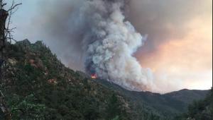 Incêndio arrasa 3.750 hectares perto de parque de Yosemite, na Califórnia