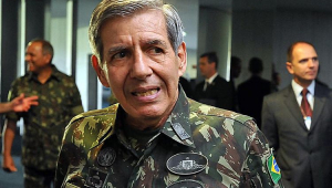 General Heleno não será vice de Bolsonaro