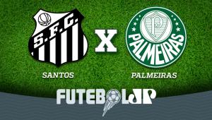 Santos x Palmeiras: acompanhe o jogo ao vivo na Jovem Pan