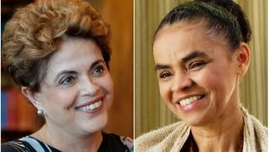 Dilma e Marina dão amostras de seus idiomas: dilmês e marinês