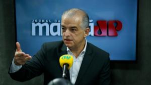 Márcio França dá entrevista ao Jornal da Manhã