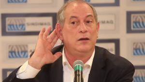 Ciro contradiz Kátia Abreu e diz ser contra reforma trabalhista