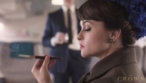 """Netflix divulga imagem de Helena Bonham Carter como Margaret em """"The Crown"""""""
