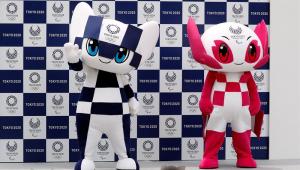 Tóquio 2020 apresenta oficialmente os mascotes Miraitowa e Someity