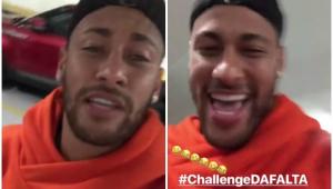 """Neymar posta vídeo, sorri e entra na zoeira do """"cai-cai"""""""