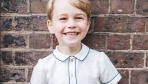 Nova foto do príncipe George é publicada no seu 5º aniversário
