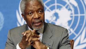 Líderes europeus lamentam morte de Kofi Annan e lembram sua trajetória de força