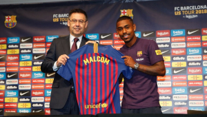 Presidente do Barcelona elogia brasileiros e diz que pode ganhar todos títulos nesta temporada