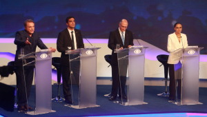 Faltou debate entre os candidatos à Presidência