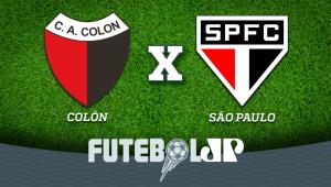 Colón x São Paulo: acompanhe o jogo ao vivo na Jovem Pan