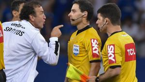 """Santos protesta contra árbitro de jogo diante do Cruzeiro: """"erro foi crucial"""""""