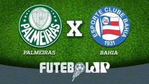 Palmeiras x Bahia: acompanhe o jogo ao vivo na Jovem Pan