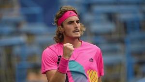 """""""Novo Guga"""", grego Tsitsipas desponta na elite com simpatia e tênis de alto nível"""