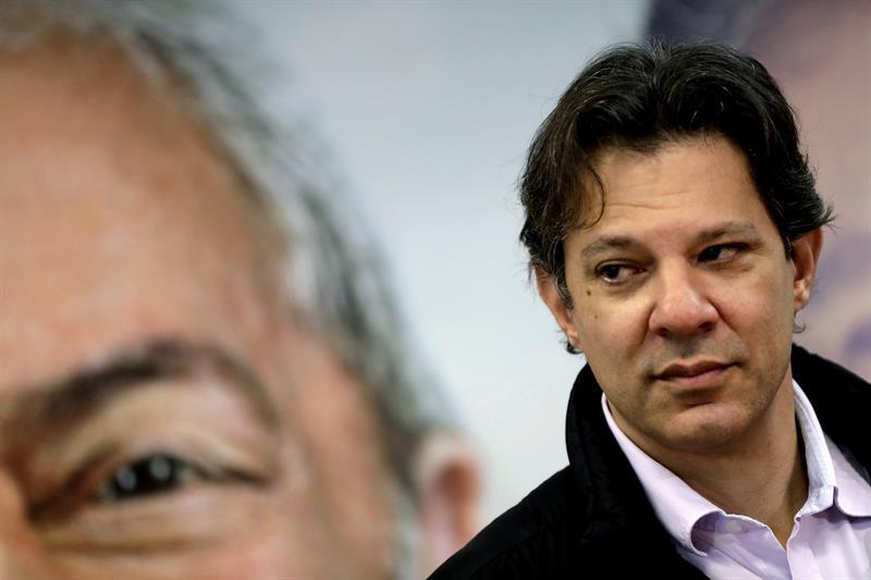 Brasil| Fernando Haddad consideró difícil revertir la ventaja de Bolsonaro