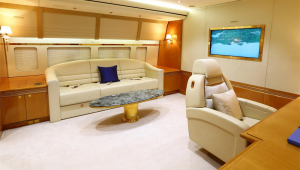 Família real do Catar coloca avião mais luxuoso do mundo à venda