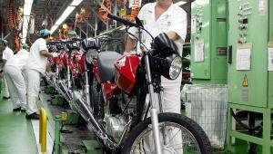 Vendas de motos crescem após seis anos