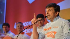 Amoêdo diz que Alckmin não deve ir ao 2° turno: 'As pessoas querem renovação'