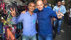 Homens com fuzis assaltam shopping no RJ; vice de Romário é uma das vítimas