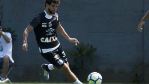 Inspirado em Renato, Victor Ferraz diz que quer se aposentar no Santos