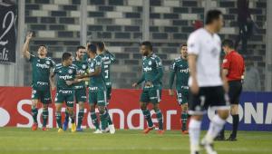 Palmeiras bate Colo-Colo no Chile e encaminha vaga para às semifinais da Libertadores