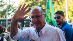Mesmo em baixa nas pesquisas, Alckmin acredita em segundo turno: 'o que vale é a última onda'