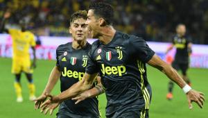 CR7 marca em 1º jogo após expulsão, e Juventus mantém 100% no Italiano