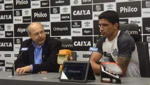 Ainda em atividade, Renato é anunciado como novo executivo de futebol do Santos