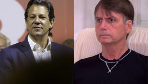 Felipe Moura Brasil:Haddad provoca, Bolsonaro ironiza