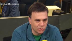 'Nunca vi uma expulsão tão absurda como a do Dedé', dispara Mauro Beting