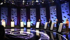 Após debate, candidatos ao governo de SP comentam resultados de última pesquisa eleitoral