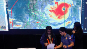 Filipinas: alerta para chegada de supertufão com rajadas de 255 km/h