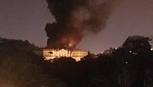 Incêndio no Museu Nacional, Zona Norte do RJ