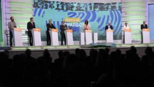 Em 1° debate como candidato, Haddad faz provocações e é alvo de ataques; Marina e Alckmin criticam Bolsonaro