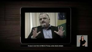 Propaganda de Doria com foto de França obeso gera desconforto em campanha