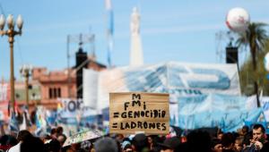Central sindical convoca greve geral da Argentina