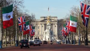 'Arma' de detido em frente ao palácio de Buckingham era um chaveiro