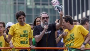 Doria, Janaina Paschoal, Lobão: personalidades participam de atos pró-Bolsonaro