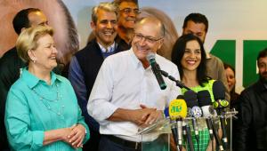 Geraldo Alckmin parabeniza Jair Bolsonaro e João Doria por vitórias nas eleições